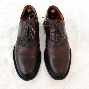 Johnston & Murphy Saddle Oxford Shoes Size 8.5